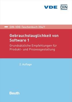 Gebrauchstauglichkeit von Software 1 – Buch mit E-Book