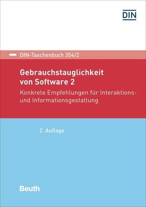 Gebrauchstauglichkeit von Software 2 – Buch mit E-Book