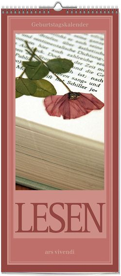 Geburstagskalender Lesen, immerwährend (neu)