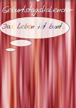 Geburtstags-Bastelkalender (Wandkalender immerwährend DIN A2 hoch) von Bässler,  Christine