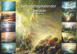 Geburtstagskalender mit Gemälden von Hahn,  Heidi, Wittgenstein Verlag