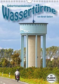 Geburtstagskalender Wassertürme (Wandkalender immerwährend DIN A4 hoch) von Seifert,  Birgit