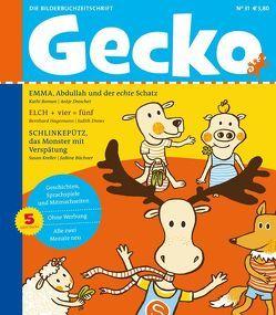 Gecko Kinderzeitschrift Band 31 von Büchner,  Sabine, Drescher,  Antje, Drews,  Judith, Hagemann,  Bernhard, Kreller,  Susan, Roman,  Kathi