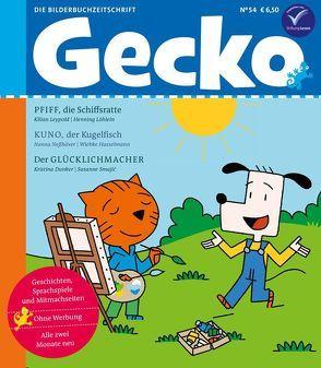 Gecko Kinderzeitschrift Band 54 von Dunker,  Kristina, Hasselmann,  Wiebke, Leypold,  Kilian, Löhlein,  Henning, Neßhöver,  Nanna, Smajic,  Susanne