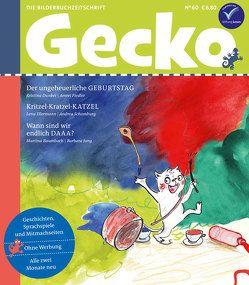 Gecko Kinderzeitschrift Band 60 von Baumbach,  Martina, Dunker,  Kristina, Ellermann,  Lena, Fiedler,  Amrei, Jung,  Barbara, Schomburg,  Andrea