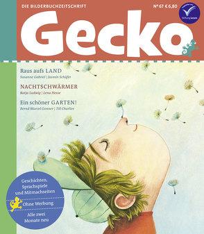Gecko Kinderzeitschrift Band 67 von Charlier,  Till, Gabriel,  Susanne, Gonner,  Bernd Marcel, Hesse,  Lena, Ludwig,  Katja, Schäfer,  Jasmin