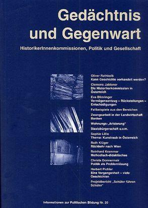 Gedächtnis und Gegenwart von Diendorfer,  Gertraud