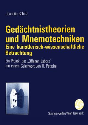 Gedächtnistheorien und Mnemotechniken von Petsche,  H., Schulz,  Jeanette