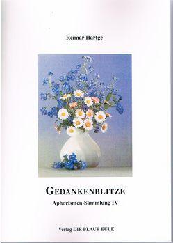 Gedankenblitze von Hartge,  Reimar