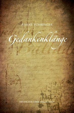 Gedankenklänge von Vöhringer,  Albert