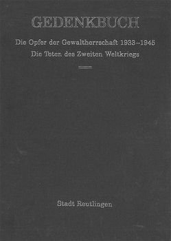 Gedenkbuch von Dukek,  Werner, Heimatmuseum Reutlingen, Schultes,  Stefan