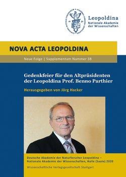 Gedenkfeier für den Altpräsidenten der Leopoldina Prof. Benno Parthier von Hacker,  Jörg