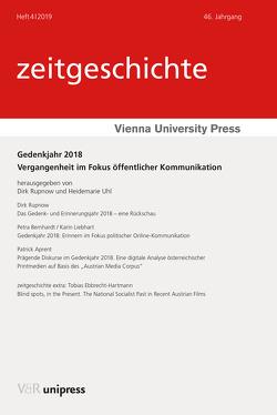 Gedenkjahr 2018 von Aprent,  Patrick, Bernhardt,  Petra, Ebbrecht-Hartmann,  Tobias, Liebhart,  Karin, Rupnow,  Dirk, Uhl,  Heidemarie