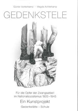 Gedenkstele von Achterkamp,  Günter, Achterkamp,  Magda