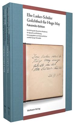Gedichtbuch für Hugo May von Kilcher,  Andreas, Lasker-Schüler,  Else, Skrodzki,  Karl Jürgen