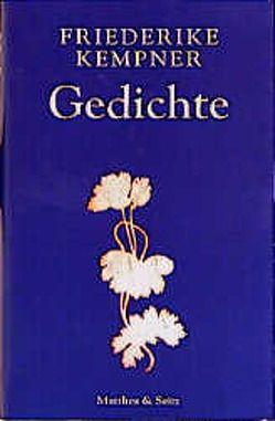 Gedichte von Kempner,  Friederike