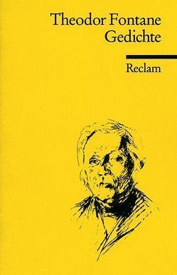 Gedichte von Fontane,  Theodor, Richter,  K.