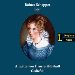 Gedichte von Droste-Hülshoff ,  Annette, Schepper,  Rainer