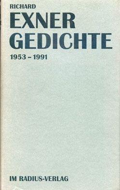 Gedichte von Exner,  Richard