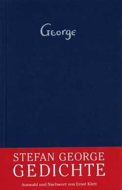 Gedichte von George,  Stefan, Klett,  Ernst
