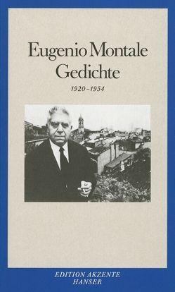 Gedichte von Helbling,  Hanno, Montale,  Eugenio
