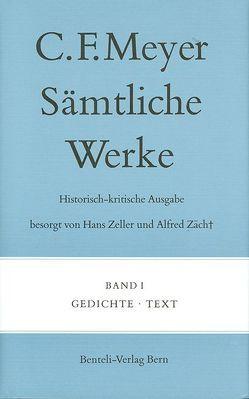 Gedichte von Meyer,  C F, Meyer,  Conrad Ferdinand, Zeller,  Hans