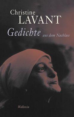 Gedichte aus dem Nachlass von Amann,  Klaus, Hafner,  Fabjan, Lavant,  Christine, Moser,  Doris