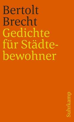Gedichte für Städtebewohner von Brecht,  Bertolt, Buono,  Franco
