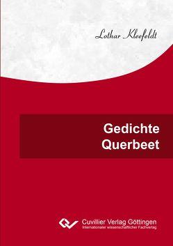 Gedichte Querbeet von Kleefeldt,  Lothar