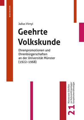 Geehrte Volkskunde von Virnyi,  Julius
