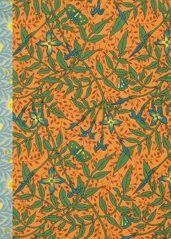 Gefährlich schön Notizbuch klein – Motiv Blau-gelbe Blüten von Schöll,  Stephan