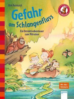 Gefahr am Schlangenfluss. Ein Detektivabenteuer zum Mitraten von Hennig,  Dirk, Reinhardt,  Dirk