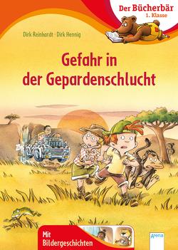 Gefahr in der Gepardenschlucht von Hennig,  Dirk, Reinhardt,  Dirk