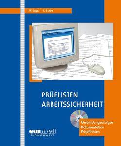 Prüflisten Arbeitssicherheit von Westphal,  Peter