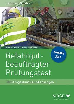 Gefahrgutbeauftragter Prüfungstest von Hahn ,  Hans-Jürgen, Kivelitz,  Matthias