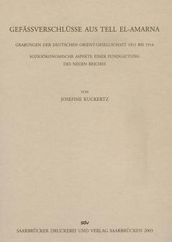 Gefäßverschlüsse aus Tell El-Armana von Kuckertz,  Josefine