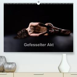 Gefesselter Akt (Premium, hochwertiger DIN A2 Wandkalender 2021, Kunstdruck in Hochglanz) von Bradel,  Detlef