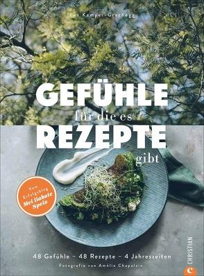 Gefühle, für die es Rezepte gibt von Chapalain,  Amélie, Kamper-Grachegg,  Eva Mag.