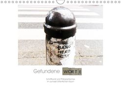 Gefundene Worte (Wandkalender 2019 DIN A4 quer) von Hirsch,  Svenja
