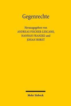 Gegenrechte von Fischer-Lescano,  Andreas, Franzki,  Hannah, Horst,  Johan
