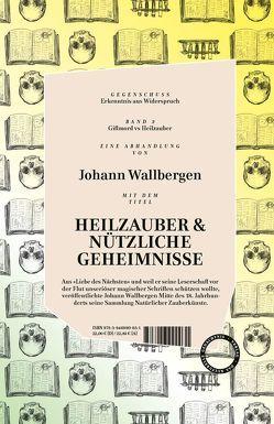 Gegenschuss – GIFTMORD versus HEILZAUBER & NÜTZLICHE GEHEIMNISSE von Lewin,  Louis, Wallbergen,  Johann