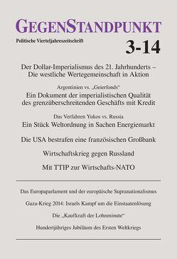 GegenStandpunkt 3-14 von GegenStandpunkt Verlag München