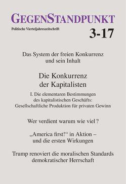 GegenStandpunkt 3-17 von GegenStandpunkt Verlag München