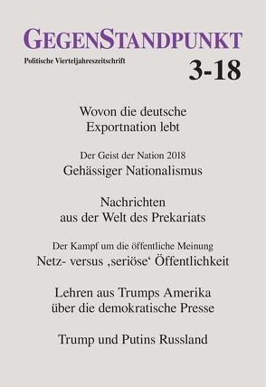 GegenStandpunkt 3-18