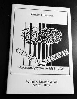 Gegenstimme von Presich-Petuelli,  Liane, Ullmann,  Günter