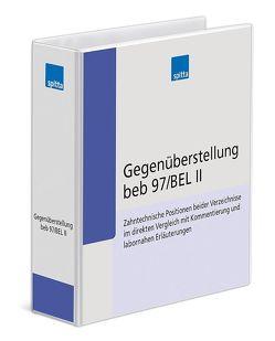 Gegenüberstellung beb 97/BEL II von Koch,  Uwe