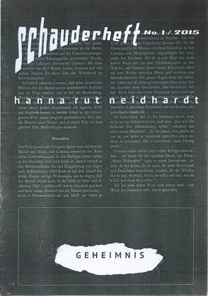 Geheimnis von Neidhardt,  Hanna Rut