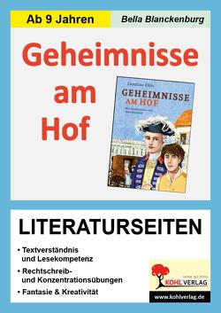 Geheimnisse am Hof – Literaturseiten von Blanckenburg,  Bella
