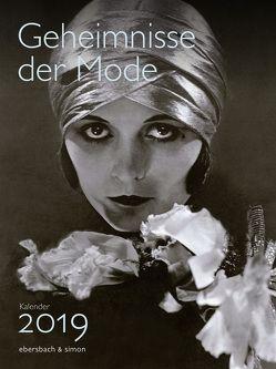Geheimnisse der Mode Kalender 2019 von Sonntag,  Sophia