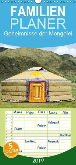 Geheimnisse der Mongolei – Familienplaner hoch (Wandkalender 2019 , 21 cm x 45 cm, hoch) von Zwanzger,  Wolfgang